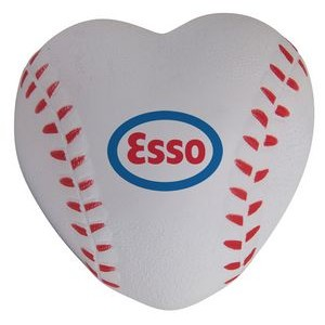 Baseball Heart Squeezies® Stress Reliever