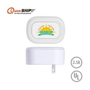 Plug In Night Light & Dual Port Wall Charger